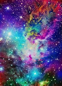 Rainbow Nebula Galaxy Background (page 3) - Pics about space