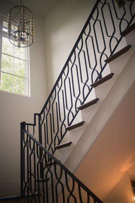 wrought iron handrail wrought iron stair railings custom stairs 1193