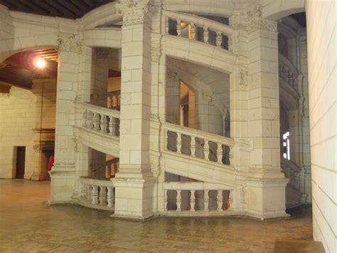 l escalier du chateau de chambord 201 cole joliot curie avoine chambord