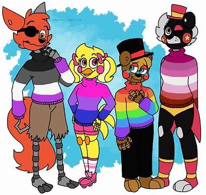 Fnaf Gay Pride Bots R0 Z8 Deviantart