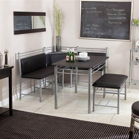 21 Spacesaving Corner Breakfast Nook Furniture Sets (booths. School House Electric. Barnwood Headboard. Leather Barstool. Throw Pillows. Granite Corpus Christi. Black Iron Bed. Rug. Crystal Floor Lamps