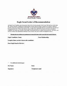 bsa eagle scout letter of recommendation eagle scout recommendation letter sample eagle scout