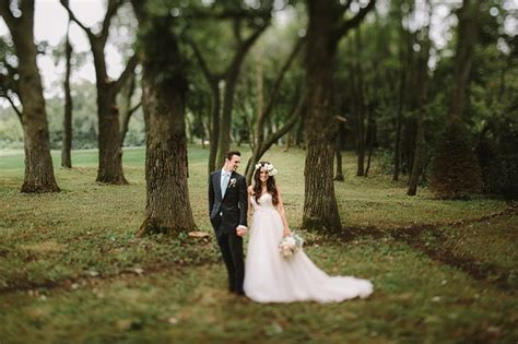 Elegant Illinois Prairie Wedding Anna Matt Green
