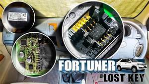 Toyota Fortuner Lost Key Making