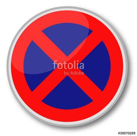 quot panneau quot interdiction de stationner quot quot fichier vectoriel libre de droits sur la banque d images