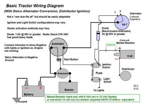 wiring diagram     yesterdays tractors