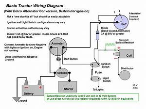 Wiring Diagram For A D-14