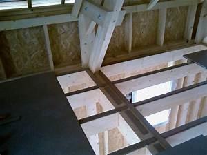Plancher Bois Etage : album plancher de l etage construction maison ossature ~ Premium-room.com Idées de Décoration