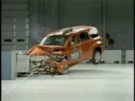 chevy hhr crash test iihs youtube
