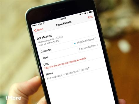 link calendar to iphone how to use notes and links in calendar for iphone and