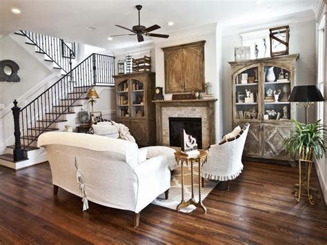 Farmhouse Living Room Interior