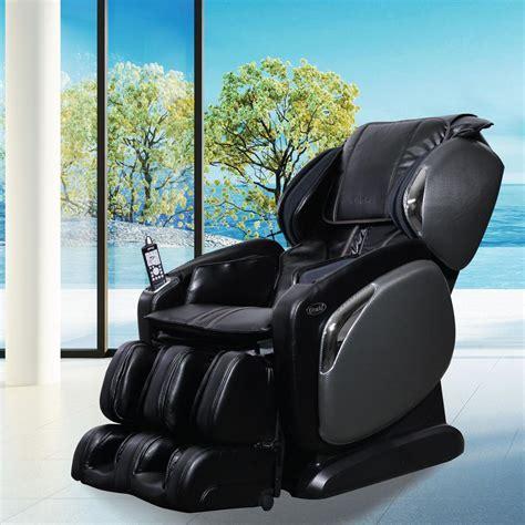 titan osaki black faux leather reclining chair os