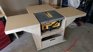 Mobile stand for my new table saw