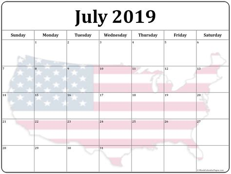 collection july photo calendars image filters