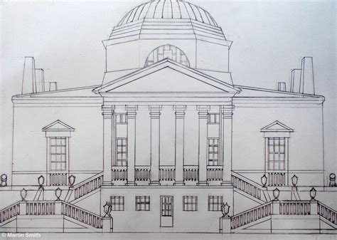 martin smith chiswick house  drawing open ended prints