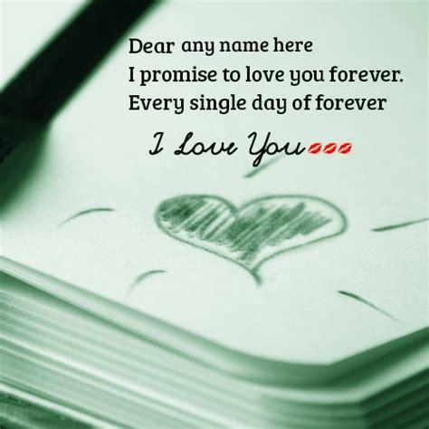 love   promise cards