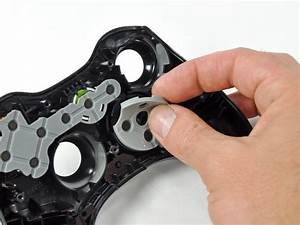 Xbox 360 Wireless Controller Bottom Panel Replacement