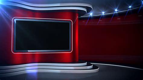 red background news set stock video footage storyblocks