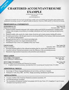 accounting resume exles australia maps google chartered accountant resume exle resume sles across all industries pinterest resume