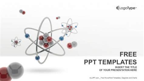 atom model powerpoint templates