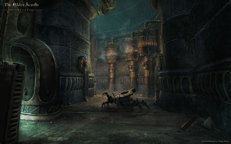 dwemer ruin wallpaper elder scrolls  guides