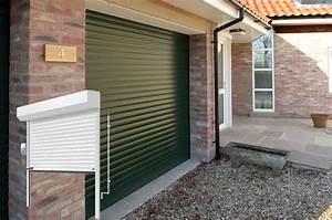porte de garage basculante ou sectionnelle With porte de garage enroulable et isolation thermique porte intérieure
