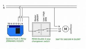 Controlling S U0026p Inline Duct Fan With A Qubino Zmnhad1 Flush 1 Relay Switch