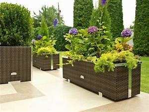Jardiniere Plastique Gros Volume : pots de fleurs bacs et jardini res 62 id es l gantes ~ Dailycaller-alerts.com Idées de Décoration