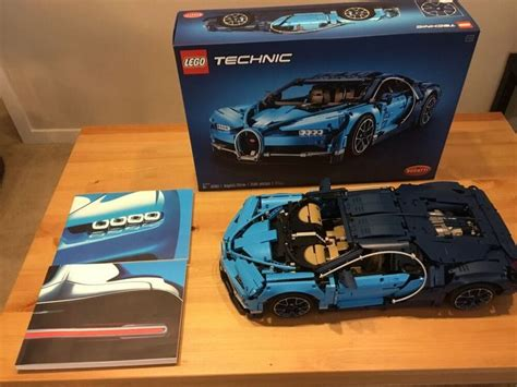 Explore engineering excellence with the lego® technic™ 42083 bugatti chiron advanced building set. Lego Technic Bugatti Chiron (42083) Complete With Box And ...