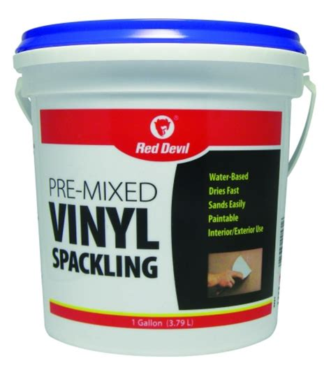 vinyl floor patching compound pre mixed vinyl spackling compound 1 gallon tub
