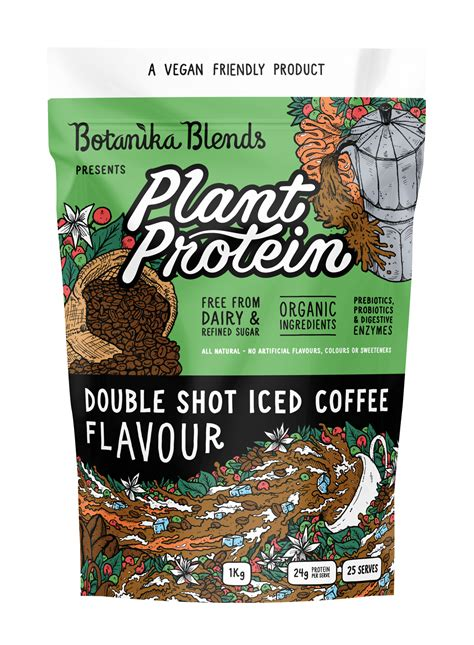 Our mission is to bring excitement back into coffee. Plant Protein - Double Shot Iced Coffee   Botanika Blends