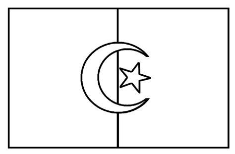 gambar mewarnai bendera anak tk