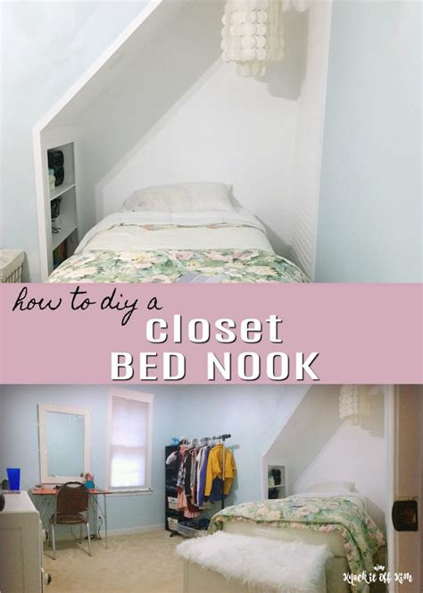 Bed Closet by Knock It Home Decor And Diys Crafts And More