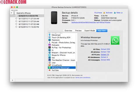 iphone backup extractor iphone backup extractor 7 4 2 1485 keygen