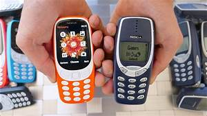 New Nokia 3310 Drop Test Vs Old Nokia 3310