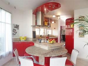 Plan de travail table cuisine plan de travail cuisine for Cuisine avec salle a manger intégrée pour petite cuisine Équipée