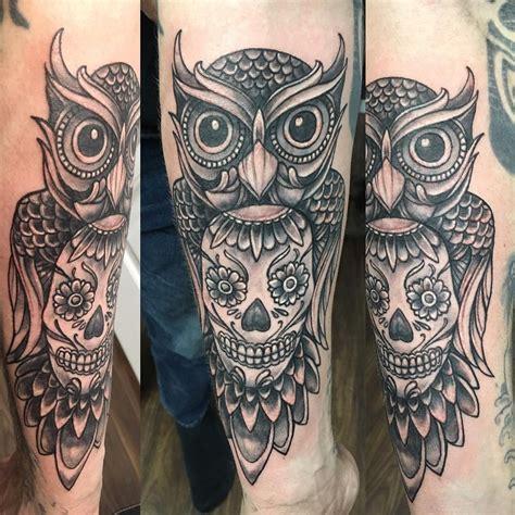 signification chouette tatouage cochese tattoo