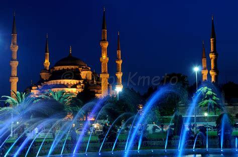 blue mosque  night  photo  istanbul marmara