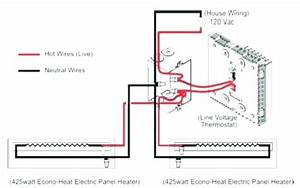 Baseboard Heater Wiring Diagram Thermostat