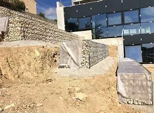 Mur De Soutenement En Gabion : entreprise de travaux lutte contre l 39 rosion gabions ~ Melissatoandfro.com Idées de Décoration