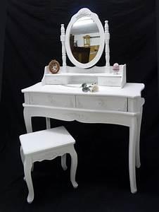 Schminktisch In Weiß : schminktisch frisiertisch frisierkommode mit hocker im antik stil in wei 2379 ebay ~ Markanthonyermac.com Haus und Dekorationen