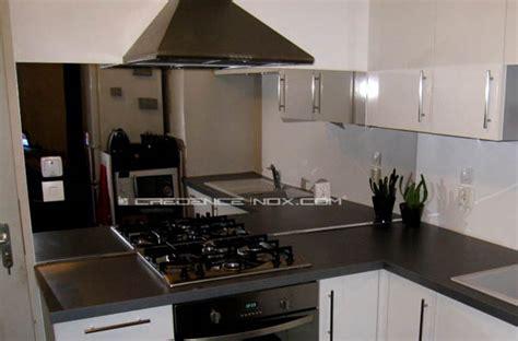 cr ence miroir pour cuisine crédence inox miroir le décoration de crédence inox