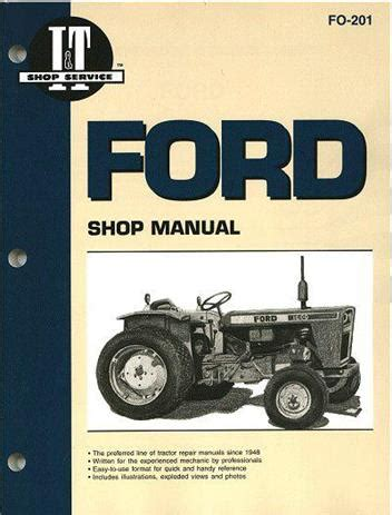 ford fordson farm tractor owners service repair manual