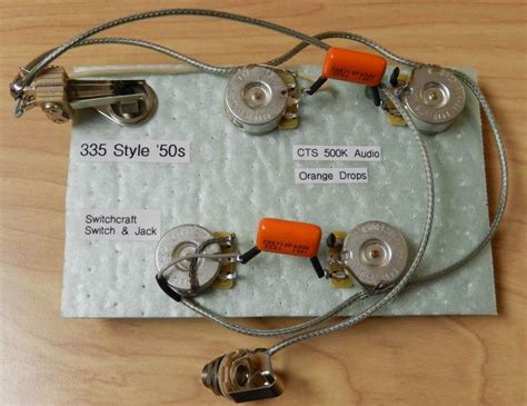 Wiring Harnes For Epiphone Dot 335 new guitar wiring harness for epiphone casino dot 335 cts