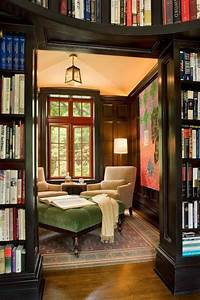 Cozy library | Interiors 4 | Pinterest