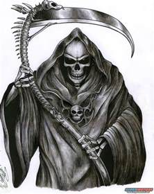 Related Pictures full sleeve grim reaper tattoo for men