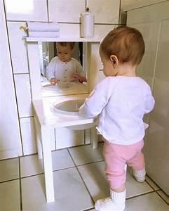 Waschtisch Holz Selber Bauen : kinderwaschenbecken bzw waschtisch nach montessori art ~ Lizthompson.info Haus und Dekorationen