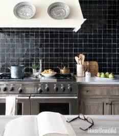 Black And White Kitchen Backsplash Kitchens With A Black And White Backsplash Megan Morris