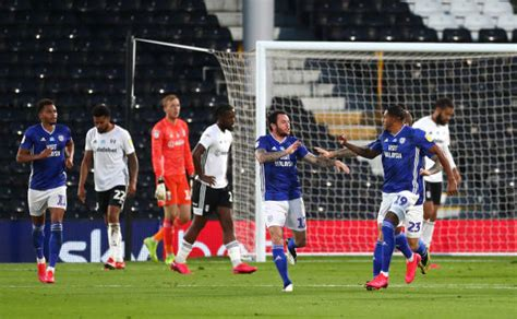 Fulham 1-2 Cardiff City (Agg: 3-2): Kebano sends Fulham to ...
