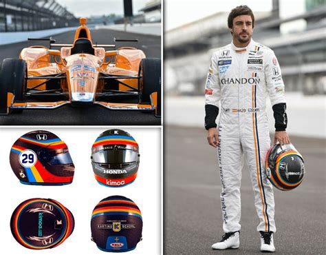 fernando alonso indy  livery revealed mclaren unveil